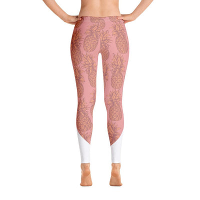 Leggings - Pineapple Punch Peach Leggings
