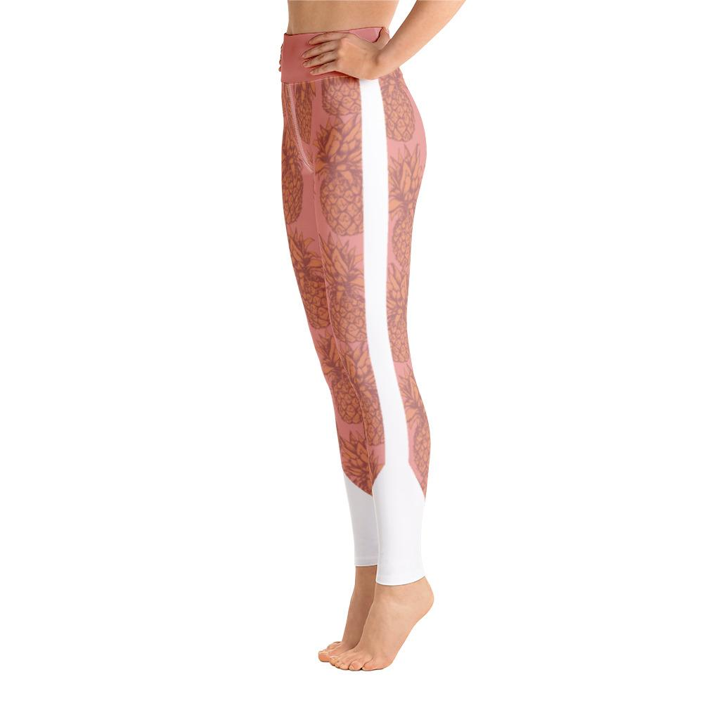 Leggings - Pineapple Punch Peach Yoga Leggings