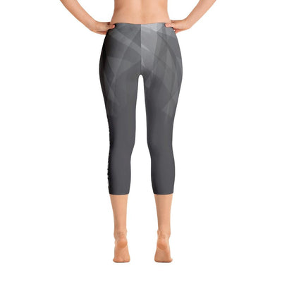 Leggings - Prismatic One More Rep Capri Leggings Grey