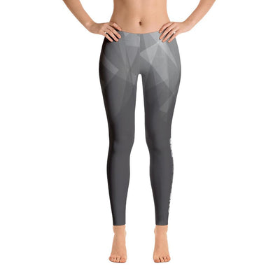 Leggings - Prismatic One More Rep Leggings Grey