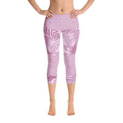 Leggings - Rhumdum Lavender Capri Leggings