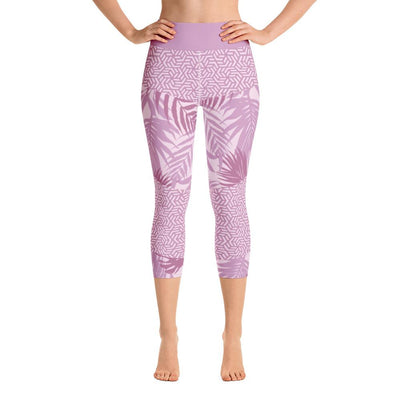 Leggings - Rhumdum Lavender Yoga Capri Leggings