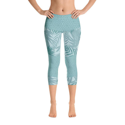 Leggings - Rhumdum Teal Capri Leggings