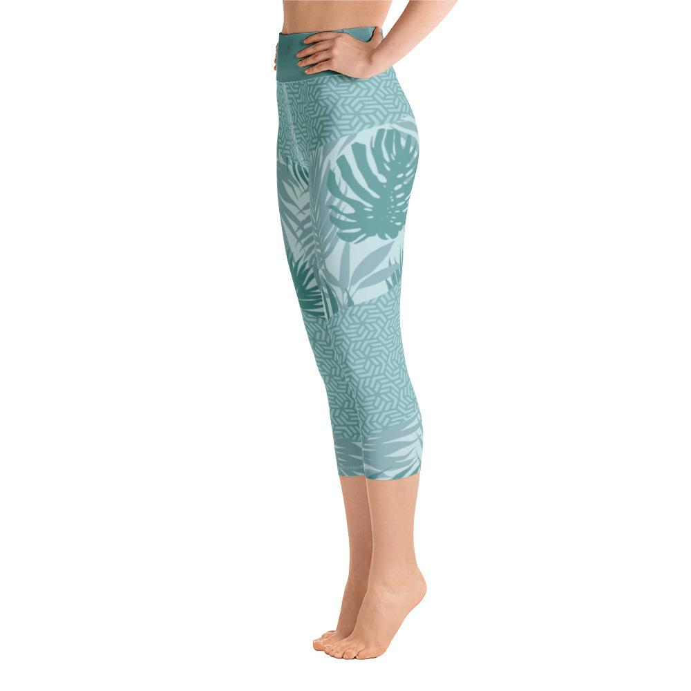 Leggings - Rhumdum Teal Yoga Capri Leggings
