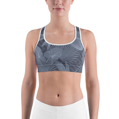 Sports Bra - Palmetto Grey Sports Bra