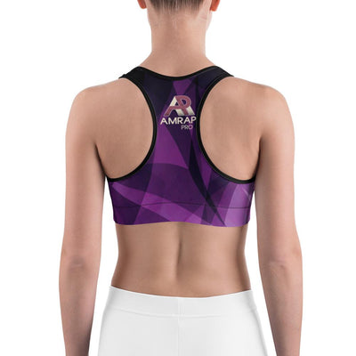 Sports Bra - Prismatic Sports Bra Dark Purple