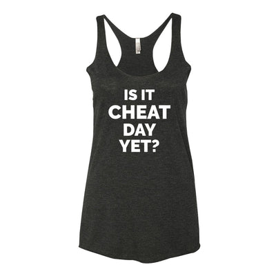 AmrapPro Is It Cheat Day Yet Tank Vintage Black