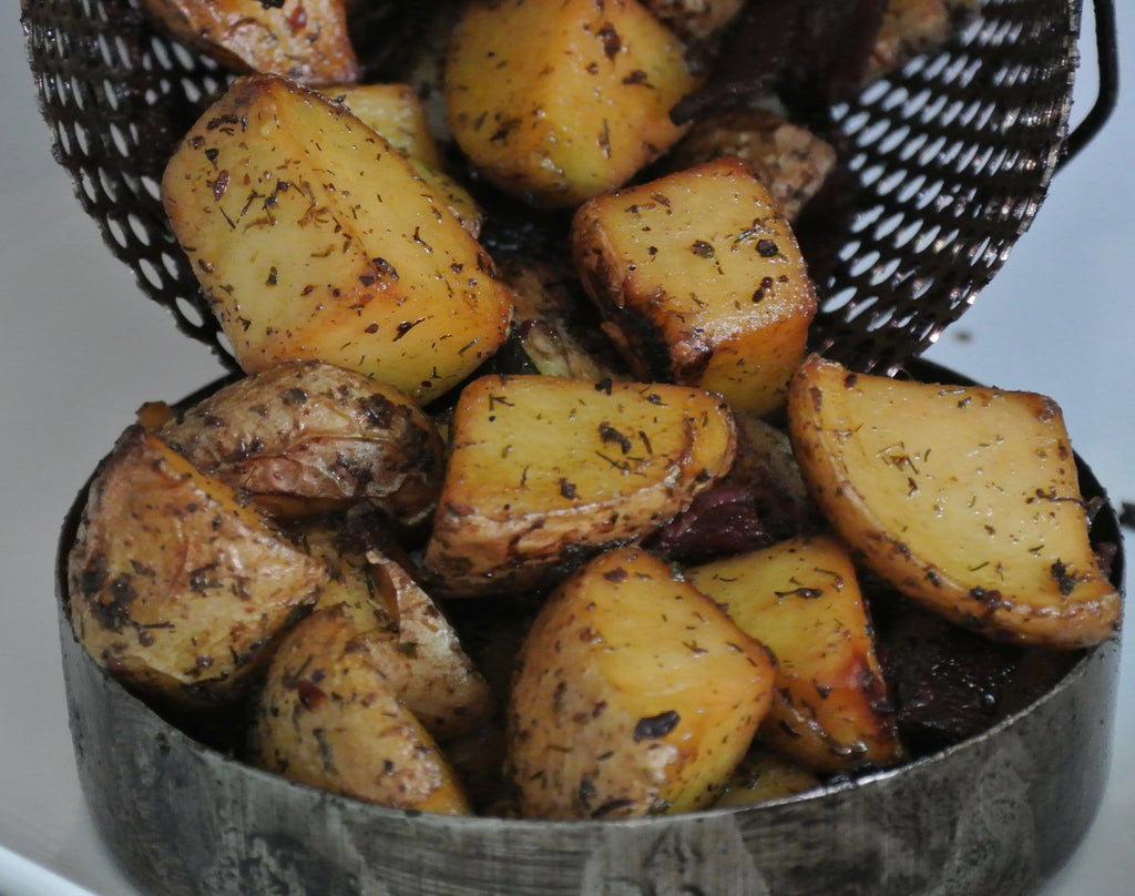 Dill Ranch BBQueCan Roasted potatoes