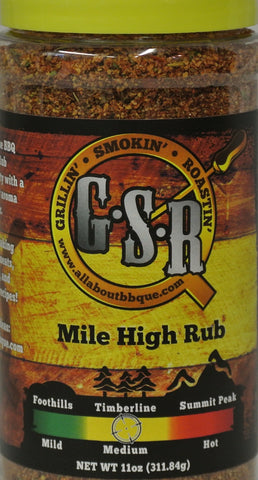 GSR Timberline (medium) BBQue Seasoning Rub