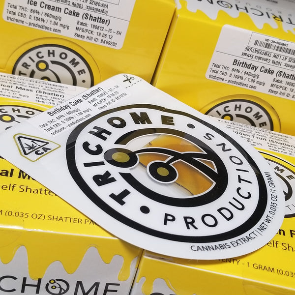 Trichome Productions Shatter 1g