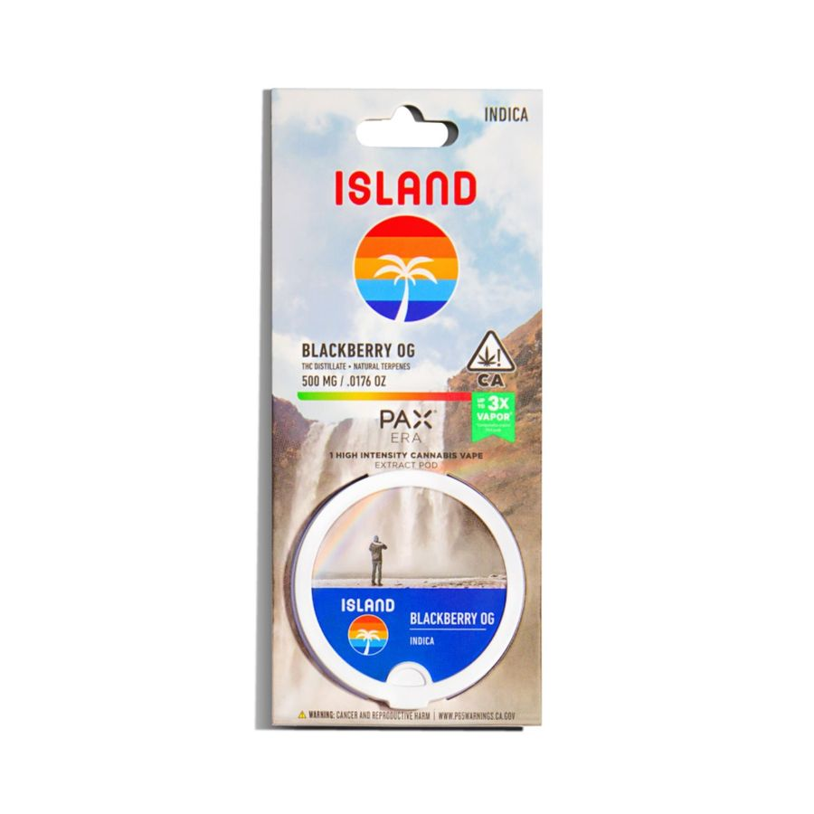 ISLAND - Pax Era Pods 500mg