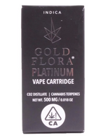 Gold Flora - Platinum Vape Cart 500mL