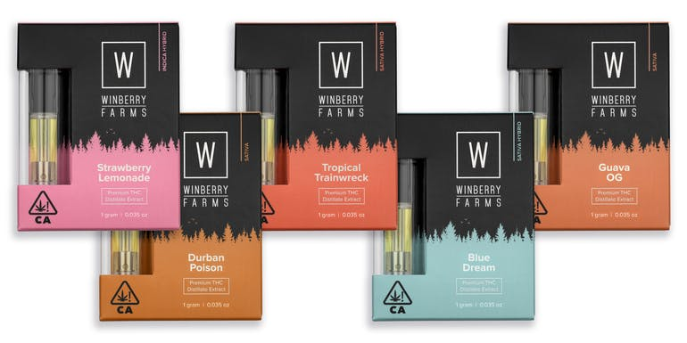 Winberry Farms Cartridges *2018 Dope Cup Winners*