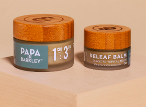 Papa and Barkley -Releaf Balm 1:3 15mL