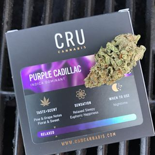 CRU -Purple Cadillac 3.5g