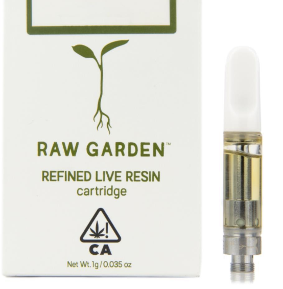 Raw Garden Cartridges 0.5g / 1g