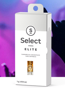 Select Elite Cartridges 500mg and 1000mg