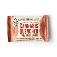 Cannabis Quencher Fruit Sparks (2 pack) 10mg