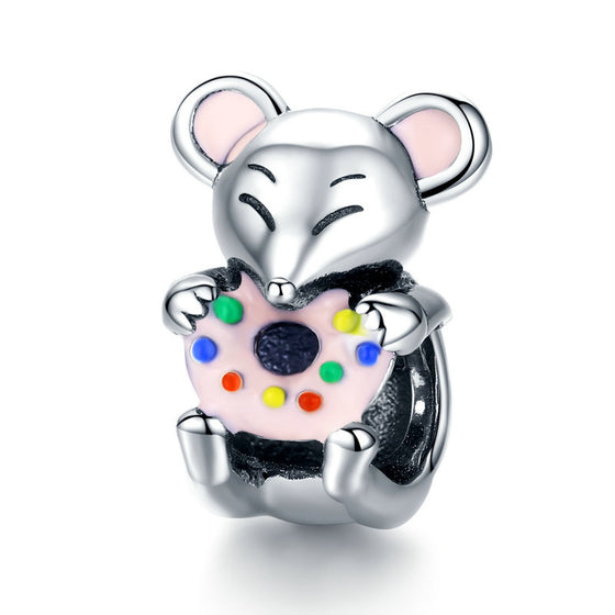 BAMOER CUTE MOUSE DIY BEAD JEWELRY SCC1318 | BAMOER