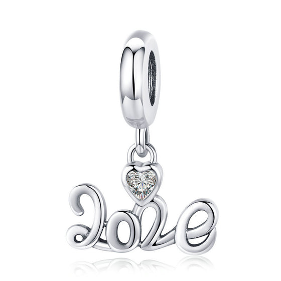 bamoer 2020 New Year Pendant Charm DIY Jewelry Gifts SCC1354 | BAMOER