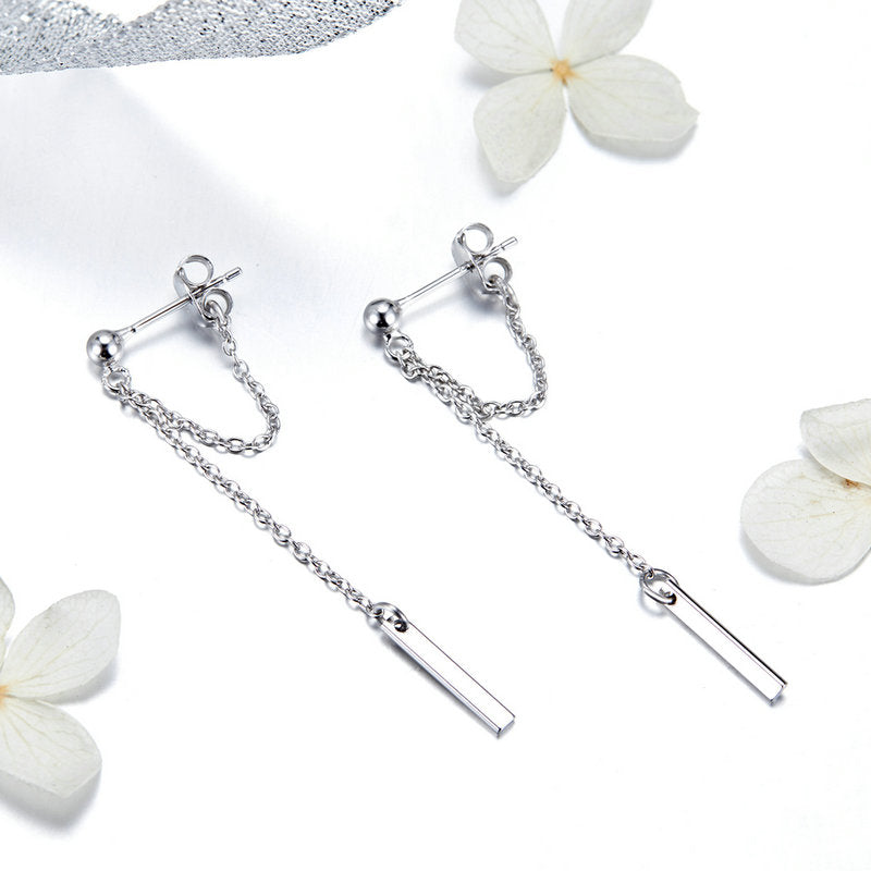 BAMOER FASHION 925 STERLING SILVER EARRING GIFT IDEA SCE550