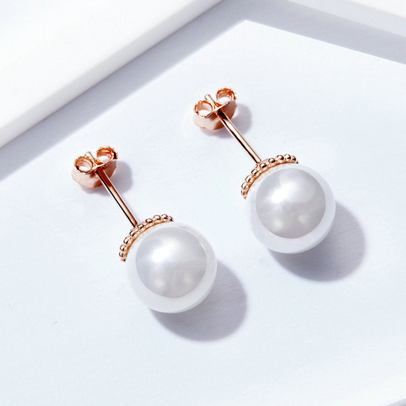 BAMOER ROSE GOLD JEWELRY EARRING GIFT SCE609