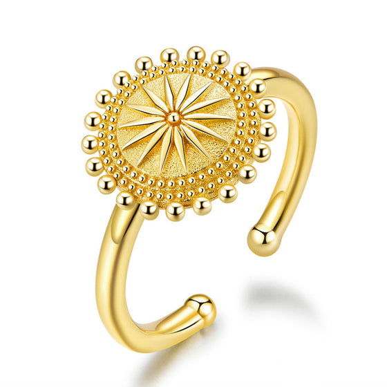 BAMOER GOLDEN FINGER RINGS JEWELRY GIFT SCR580 | BAMOER