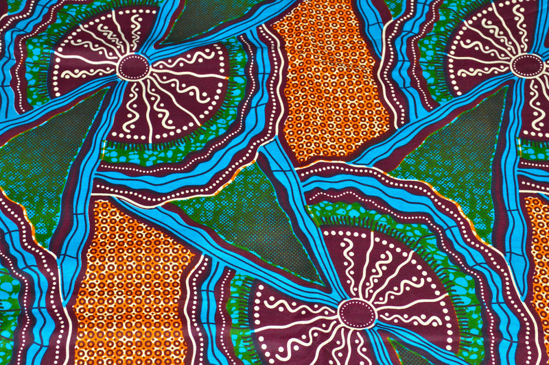 The Therapeutic Colors of African Print