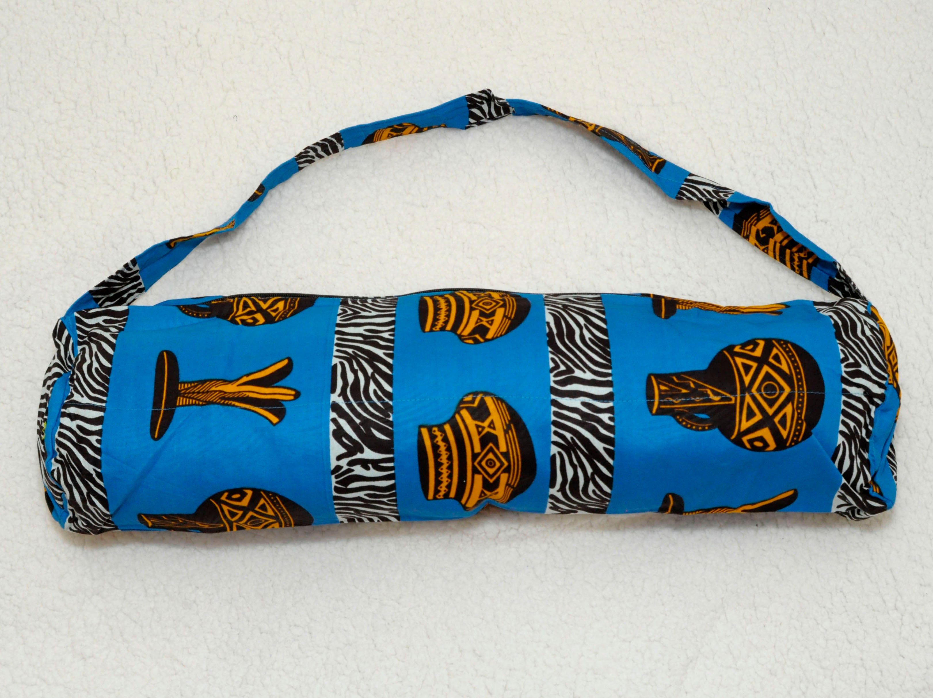 Relax & Release African Print Yoga Bags