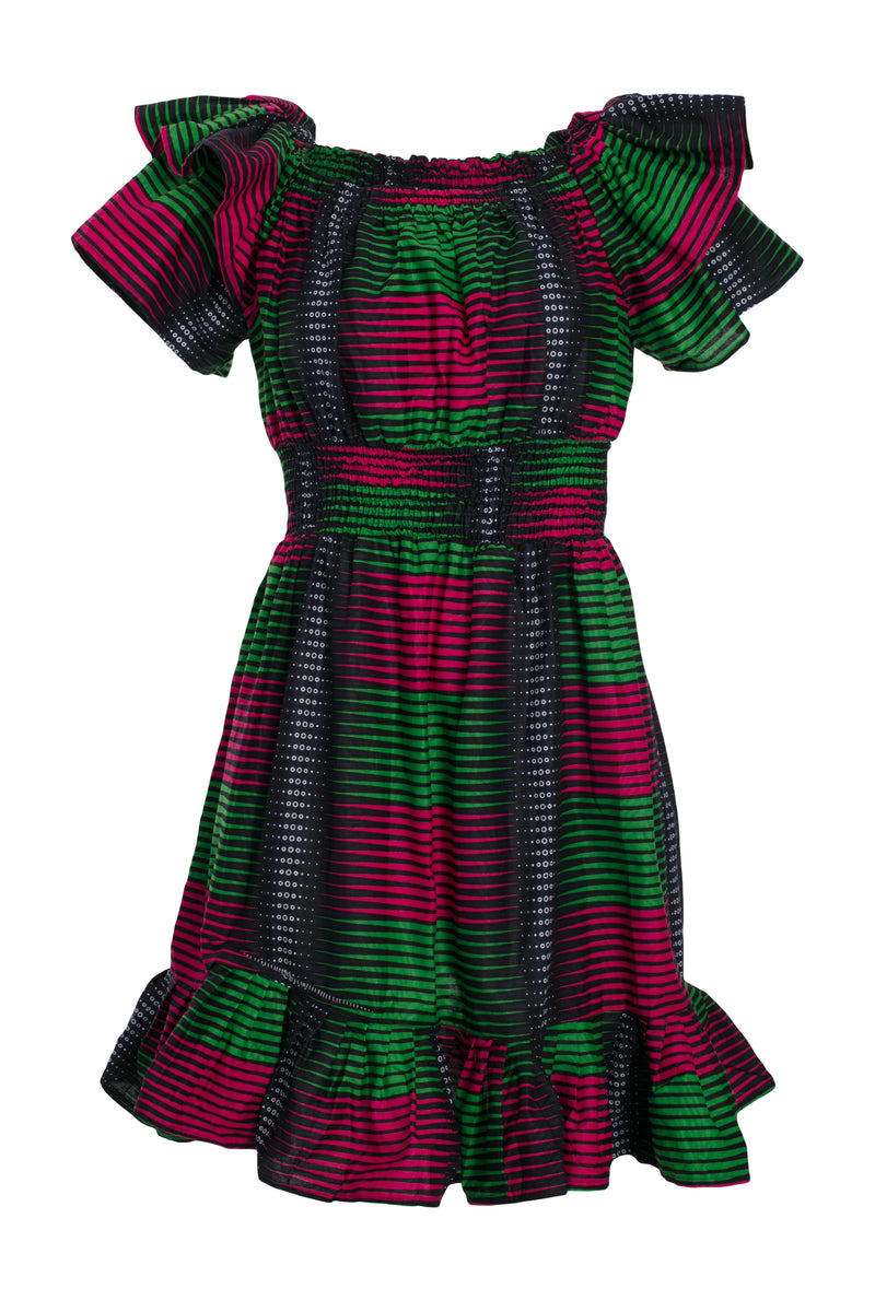 African Dress GIRLY GIRL Flowy Dress