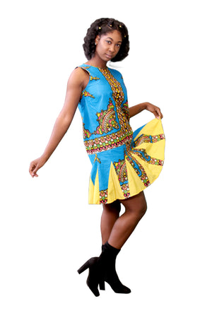 Mon Ami African Print Dress