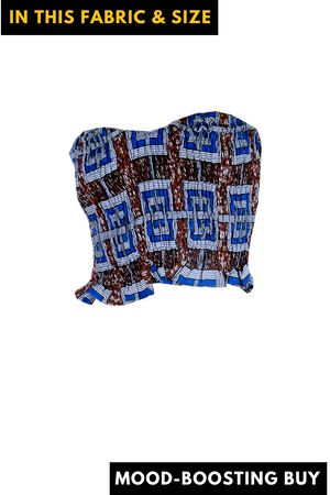"""Vibes"" African Print Tube Top - S/M/L"