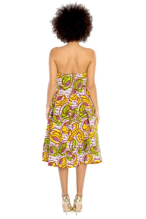 African Print Dress - All In The Details