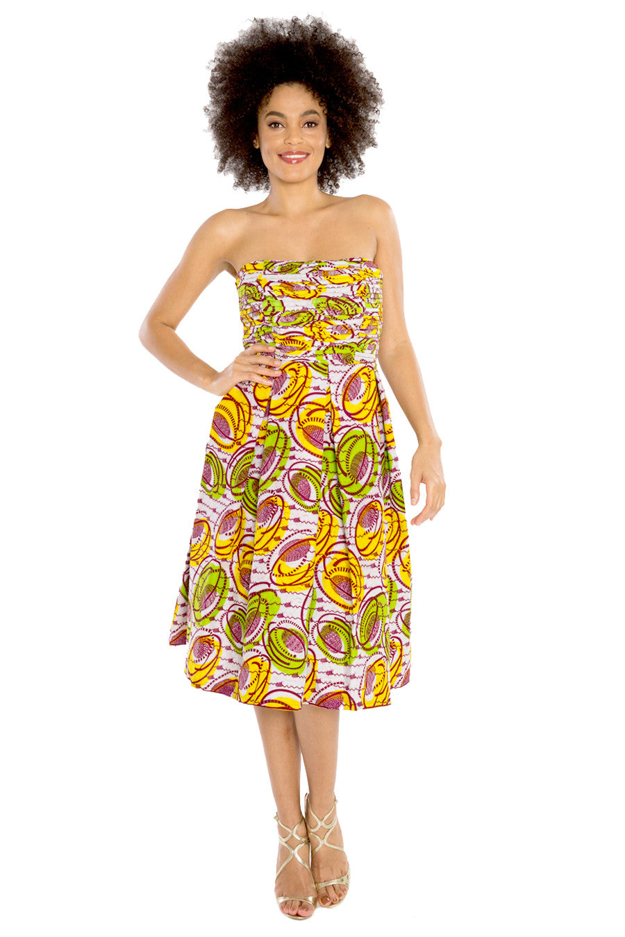 african dresses african print women summer fashion wax and wonder