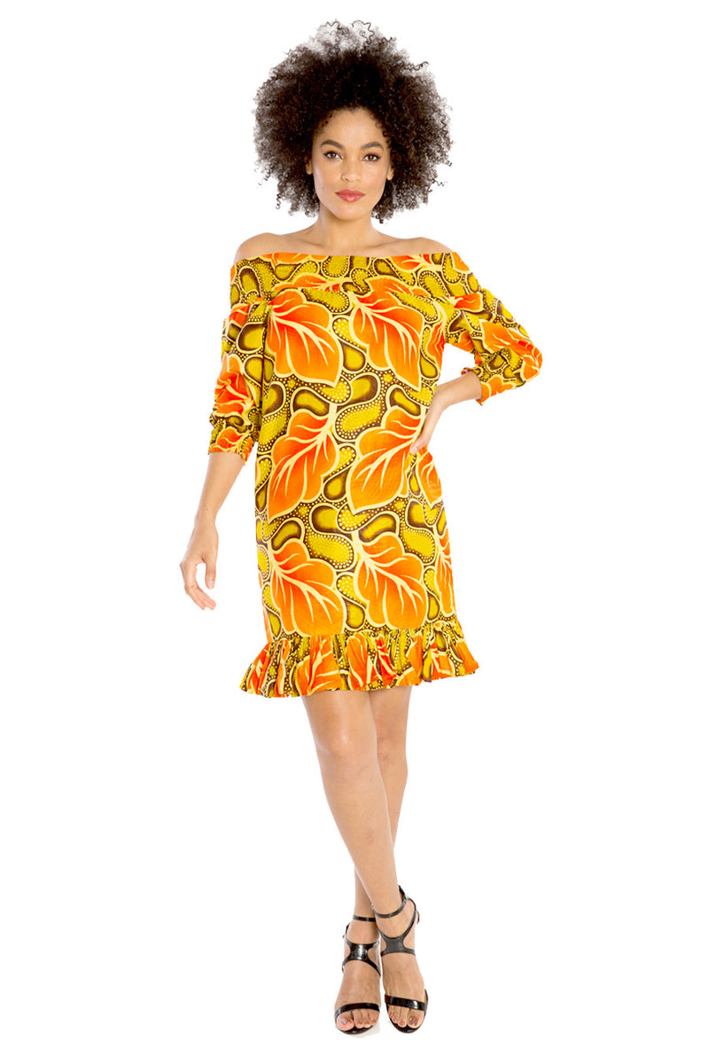 african dresses off shoulder dress african print fashion wax and wonder