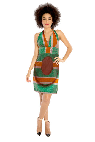 I Am Every Woman African Print Dress