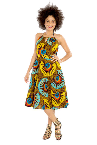 Nobody Like Me  African Print Dress
