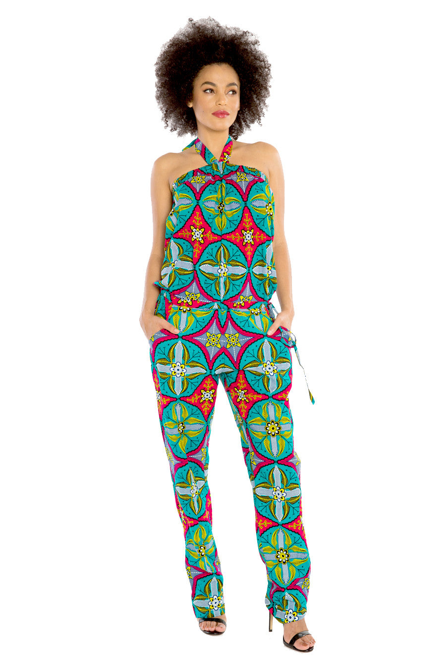 African Jumpsuit JUMP FOR MY LOVE