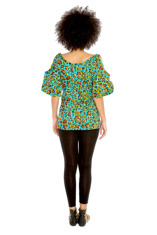 Dream Chaser African Print Blouse