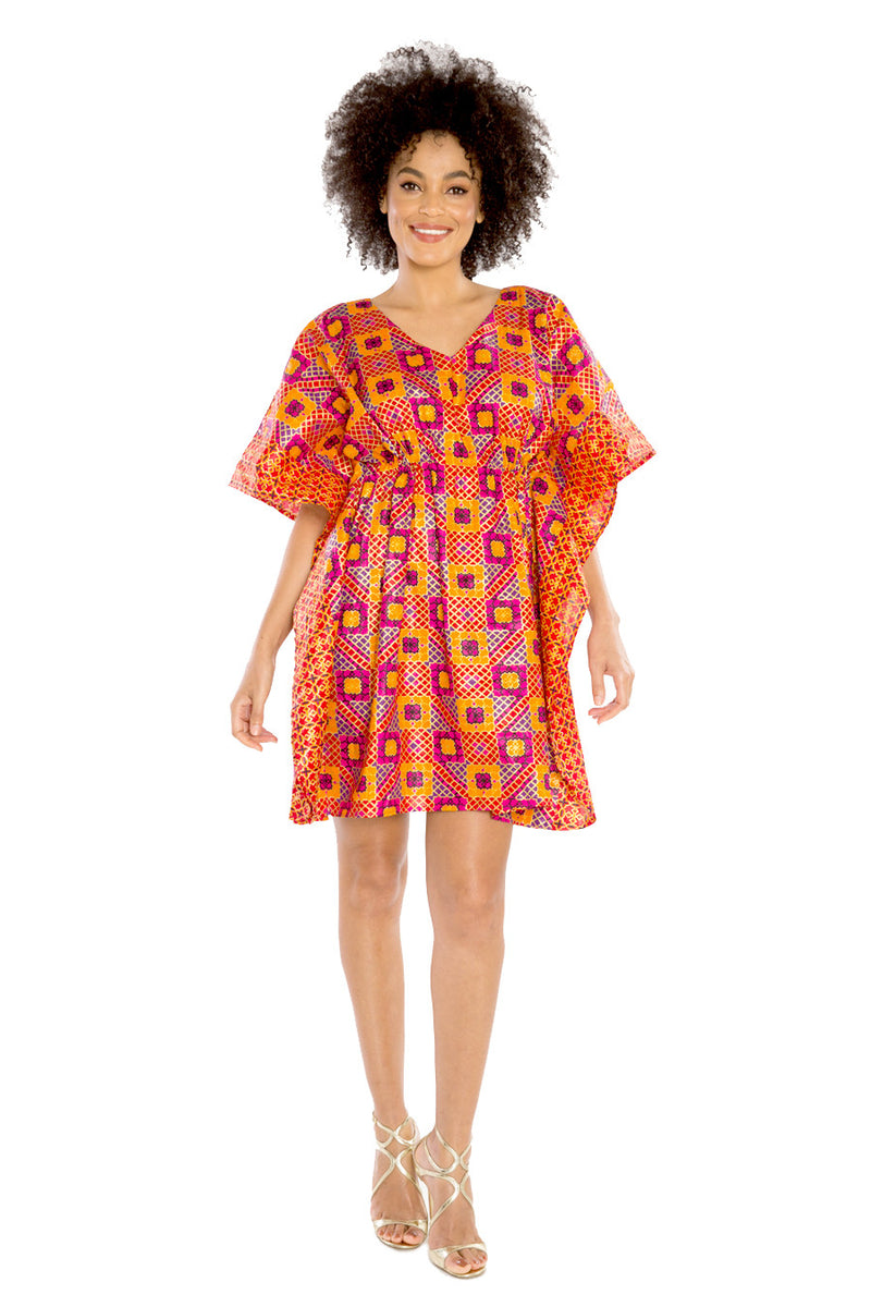 african dresses african print women relaxed fit dress fashion wax and wonder