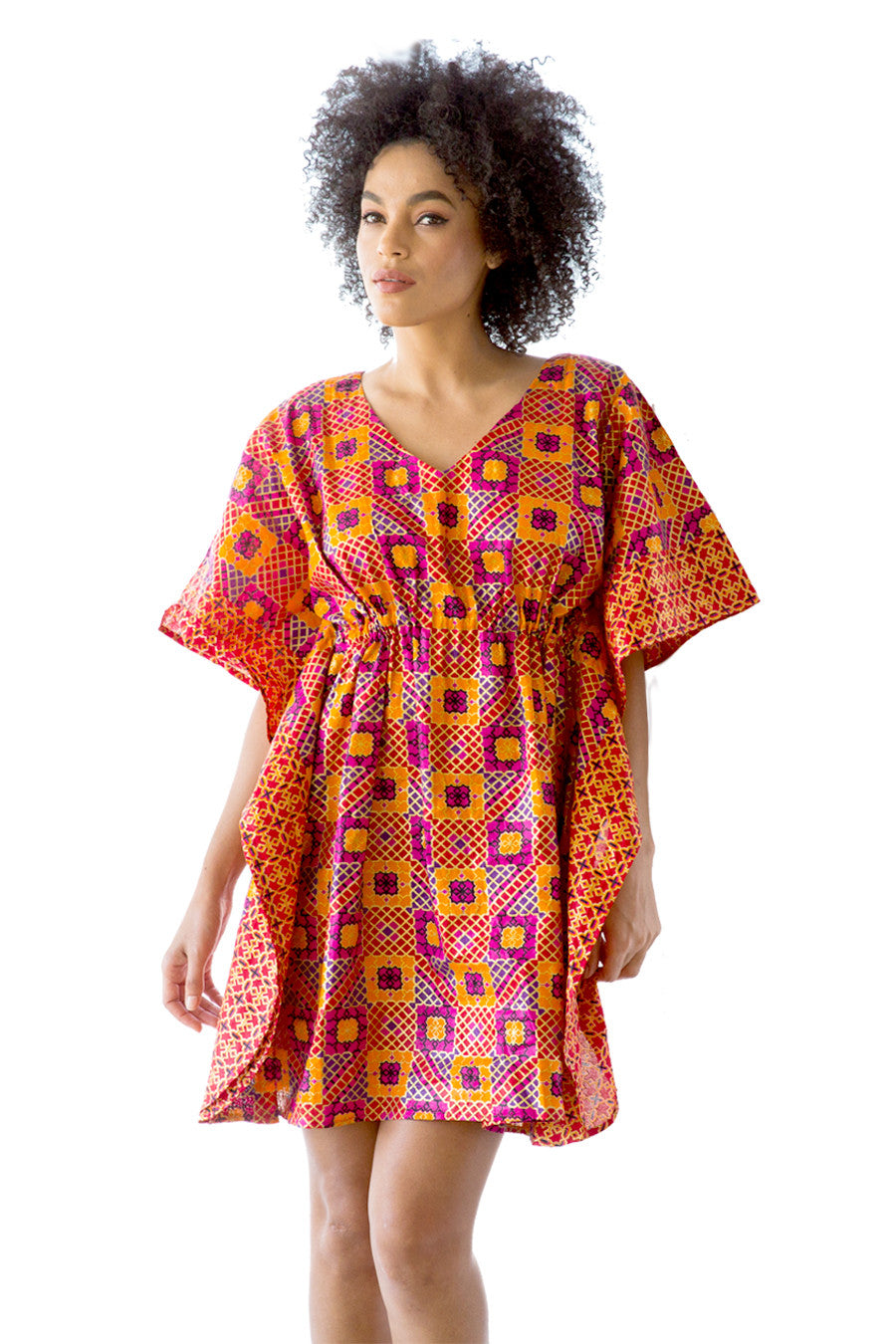African Dress I AM EVERY WOMAN Flowy Dress