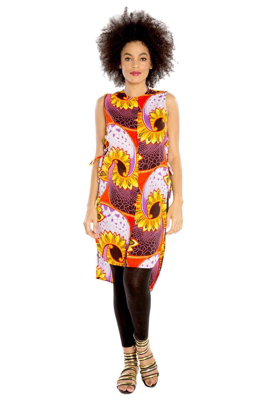 African Vest Coat & Tunic Top I KEEP IT SIMPLE