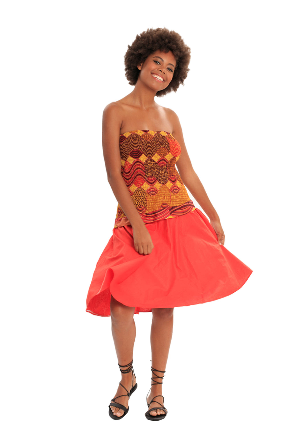 African Convertible Skirt to Dress - ATLANTIC BEAUTY MERMAID