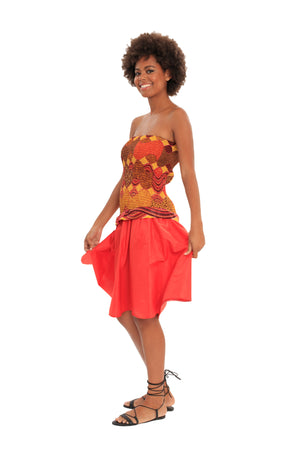 african dresses african print women fashion wax and wonder