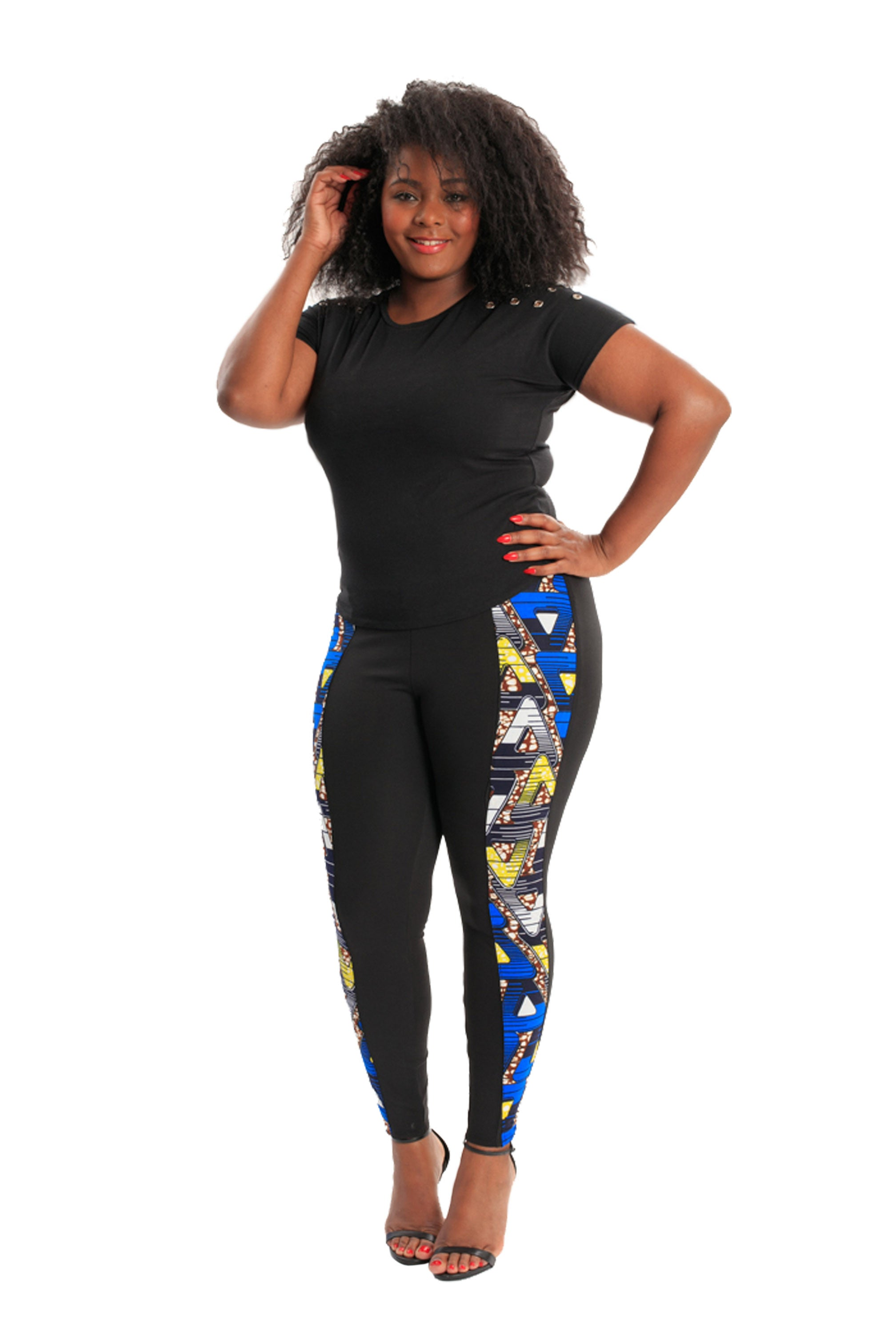 Goddess Leggings African Print Leggings