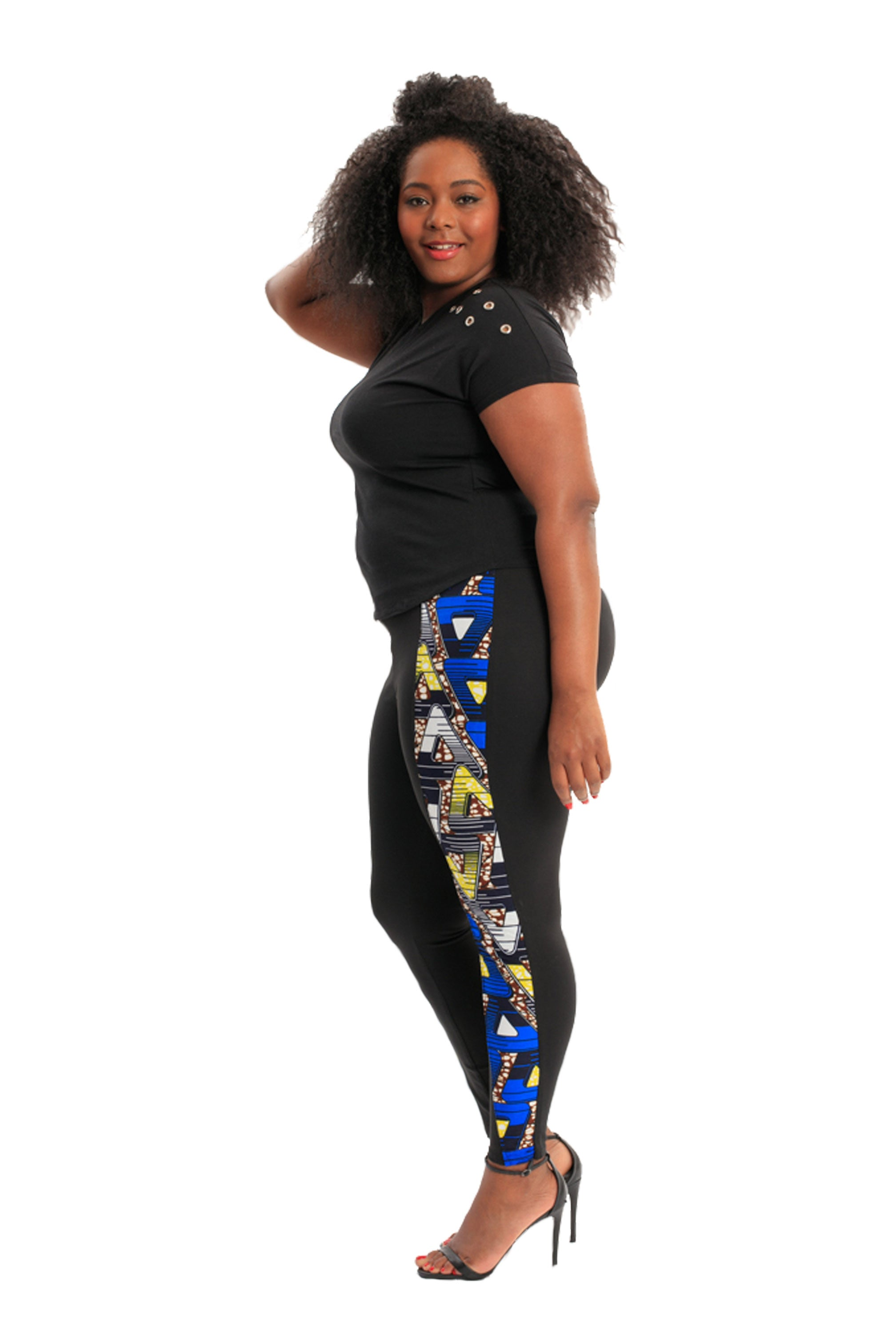 Goddess Leggings African Print Leggings **MARKET DEAL** (Limited Prints & Sizes, Ships Immediately)