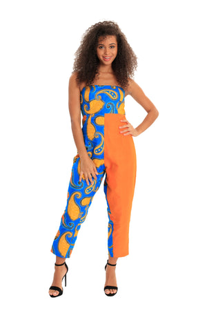 My Sense of Style Never Fades African Print JUMPSUITS