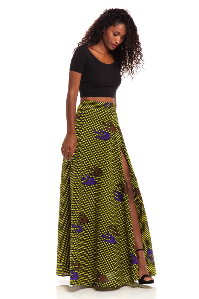 Caribbean Breeze Maxi Skirt
