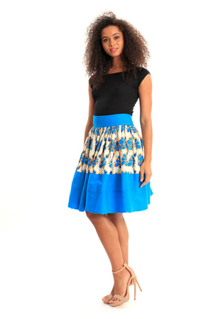 Authentically Sassy African Print Skirt
