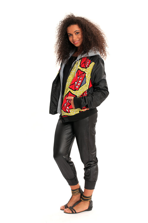 Hooded Dreams African Print Jacket - Unisex **MARKET DEAL** (Limited Prints & Sizes, Ships Immediately)